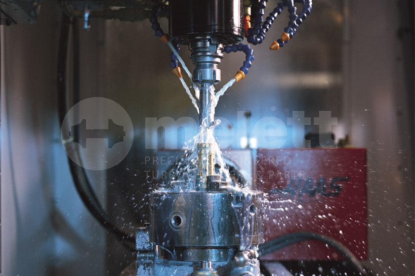 Melett turbo component manufacturing process