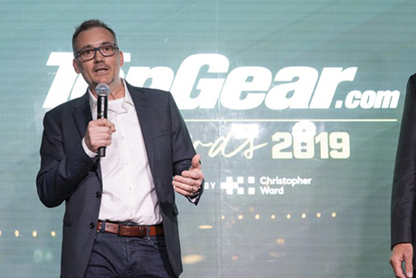 Ian Warhurst Wins Top Gear's 'Man of the Year'