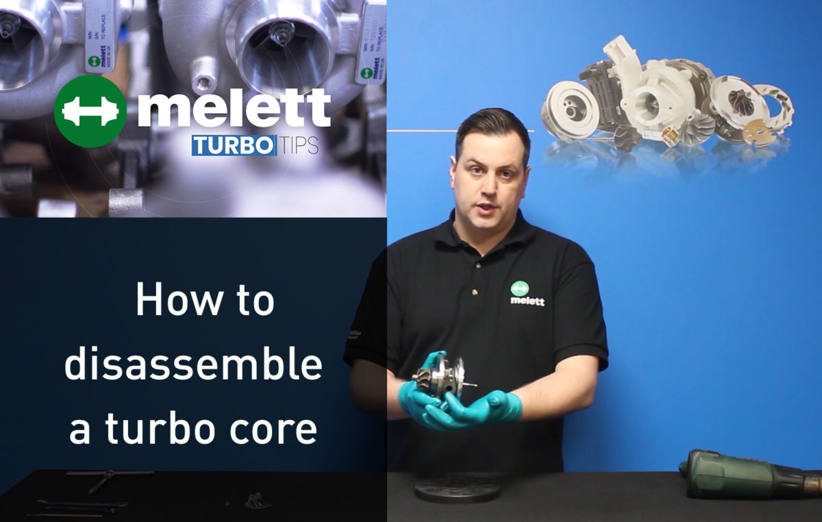 How to Disassemble a Turbo Core — Turbo Tips Video