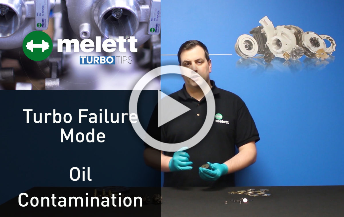 How does oil contamination cause turbocharger failure? 🎥