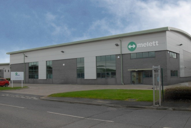 Melett warehouse facility