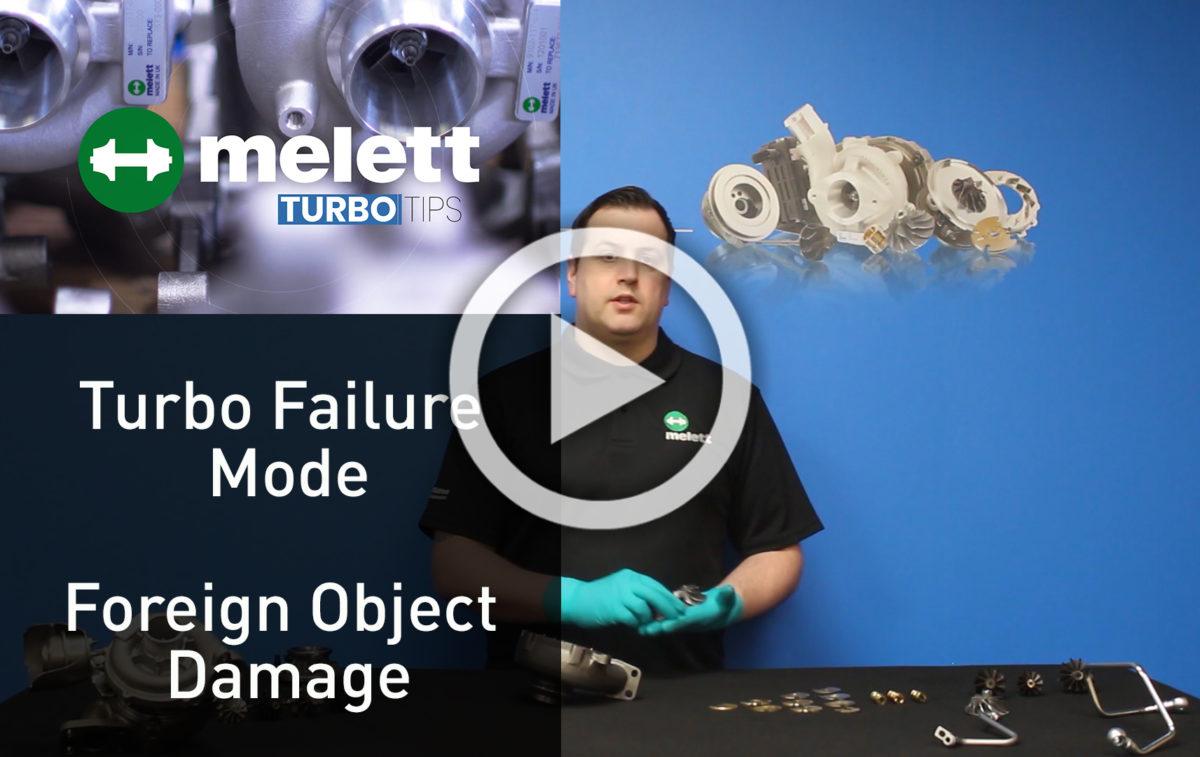 Как повреждение посторонними предметами приводит к отказу турбокомпрессора? ?